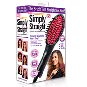 As Seen on TV Simply Straight Ceramic Straightening Brush