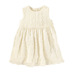 Oshkosh Short Sleeve A-Line Dress - Baby Girls