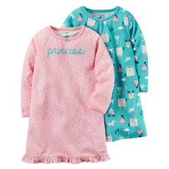 Carter's Long Sleeve Nightgown-Toddler Girls