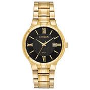 Citizen Mens Gold Tone Bracelet Watch-Bi5022-50e