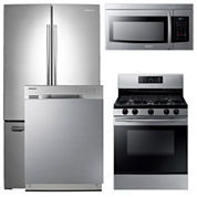 Samsung ENERGY STAR® French-Door 4-pc. Kitchen Package