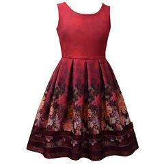 Bonnie Jean Sleeveless Party Dress - Big Kid Girls Plus