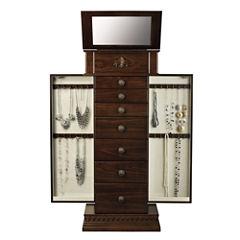 Monet Jewelry Chestnut Jewelry Armoire