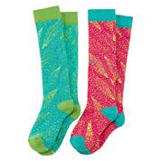 Nike® 2-pc Graphic Knee-High Socks - Girls 7-16