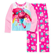 2-pc. Trolls Sleepwear Set - Girls