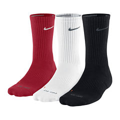 Nike® 3-pk. Dri-FIT Crew Training Socks