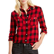 Levi's® Long-Sleeve Workwear Boyfriend Shirt