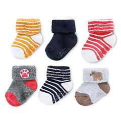 Carter's 6 Pair Crew Socks