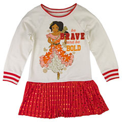 Disney by Okie Dokie Short Sleeve Elena of Avalor Tutu Dress - Preschool Girls
