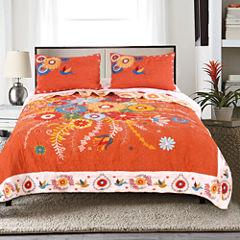 Pj Masks Topanga 3-pc. Floral Quilt Set