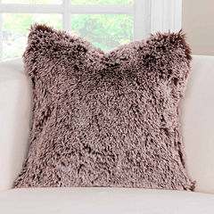Pologear Pologear Bear Shag Throw Pillow