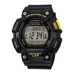 Casio® Tough Solar Illuminator Mens Runner Sport Watch STLS110H-1C