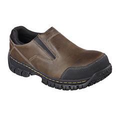 Skechers® Hartan Mens Steel-Toe Work Shoes