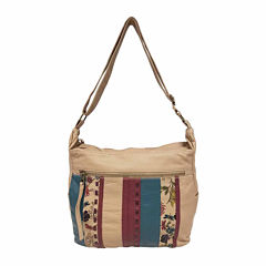St. John's Bay® Quilted Convertible Hobo Bag