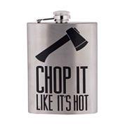 Reward Lodge Chop It Like It's Hot 8oz Flask