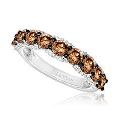 Grand Sample Sale™ by Le Vian® 1 3/4 CT. T.W of Chocolate Diamonds® & Vanilla Diamonds® in 14k Vanilla Gold® Chocolatier® Ring