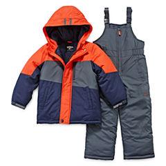 OshKosh B'gosh® Colorblock Snowsuit - Preschool Boys 4-7
