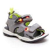 Carter's® Boys Sharkon Light-Up Sandals - Toddler