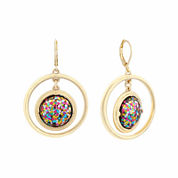 Liz Claiborne® Acrylic Orbital Earrings