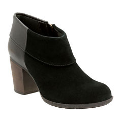 Clarks® Enfield Canal Heeled Ankle Booties
