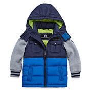 Weatherproof Long-Sleeve Vest - Boys 2t-4t