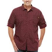 Buffalo Mikele Short-Sleeve Woven Tee - Big & Tall