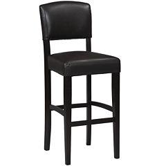Brady Upholstered Barstool with Back