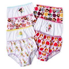 Nick Jr. 7-pk. Assorted Brief Panties - Girls 2t-4t