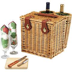 Picnic Time® Vino Wine Basket – Service for 2