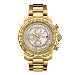 JBW 18k Gold-Plated Stainless-Steel Titus Mens Gold Tone Bracelet Watch-J6347a