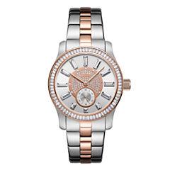 JBW Stainless Steel Celine Womens Two Tone Bracelet Watch-J6349e