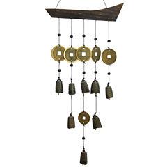 Oriental Furniture Tibetan Bell Wind Chime