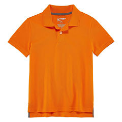 Arizona Short Sleeve Pique Polo Shirt - Toddler Boys