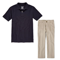 IZOD® Piqué Polo or Flat-Front Pants - Preschool Boys 4-7