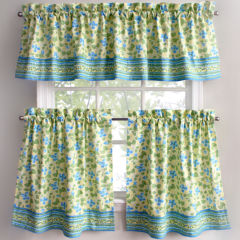 kitchen valances curtains & drapes for window - jcpenney