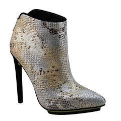 Michael Antonio Troops Snake-Print Booties