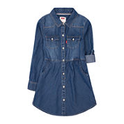 Levi's® Long-Sleeve Woven Dress - Girls 7-16