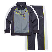 Puma® 2-pc. Colorblock Cat Track Suit - Preschool Boys 4-7