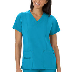Jockey Womens V Neck Scrub Top