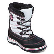 Totes Haddie Girls Weather Boots - Little Kids/Big Kids
