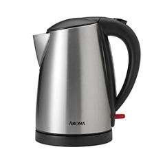 Aroma Awk-1400sb Cordless Stainless Steel Electric Kettle