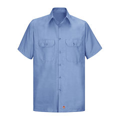 Red Kap Solid Ripstop Work Shirt - Big & Tall