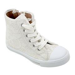 OMGirl Sabrine Lace Girls High-Top Sneakers - Little Kids