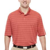 Haggar® Short-Sleeve Striped Polo - Big & Tall