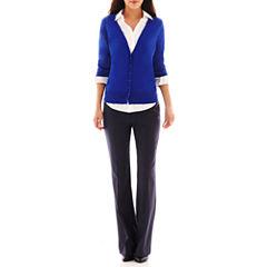 Worthington® Cardigan Sweater or Modern Trouser Pants