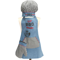 Kids' Lil' BBQ Dude 3-pc. Apron Set
