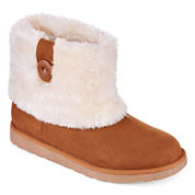 Arizona Impala Faux-Fur Booties