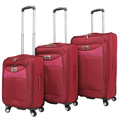 Chariot Travelware Amore 3-pc. Luggage Set