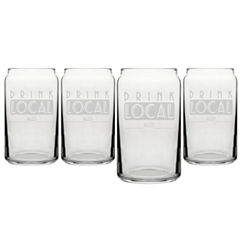 Cathy's Concepts 4-pc. Pint Glass
