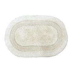 Gracious Reversible Oval Bath Rug Collection